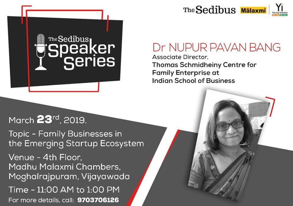 The Sedibus Speaker Series – March Edition