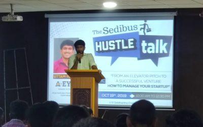 The Sedibus October Hustle Talk at VR Siddhartha Focuses on Managing Startups