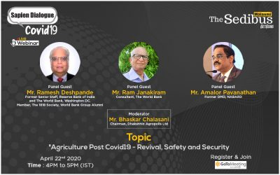 Agriculture Post Covid19 – Revival, Safety  and Security